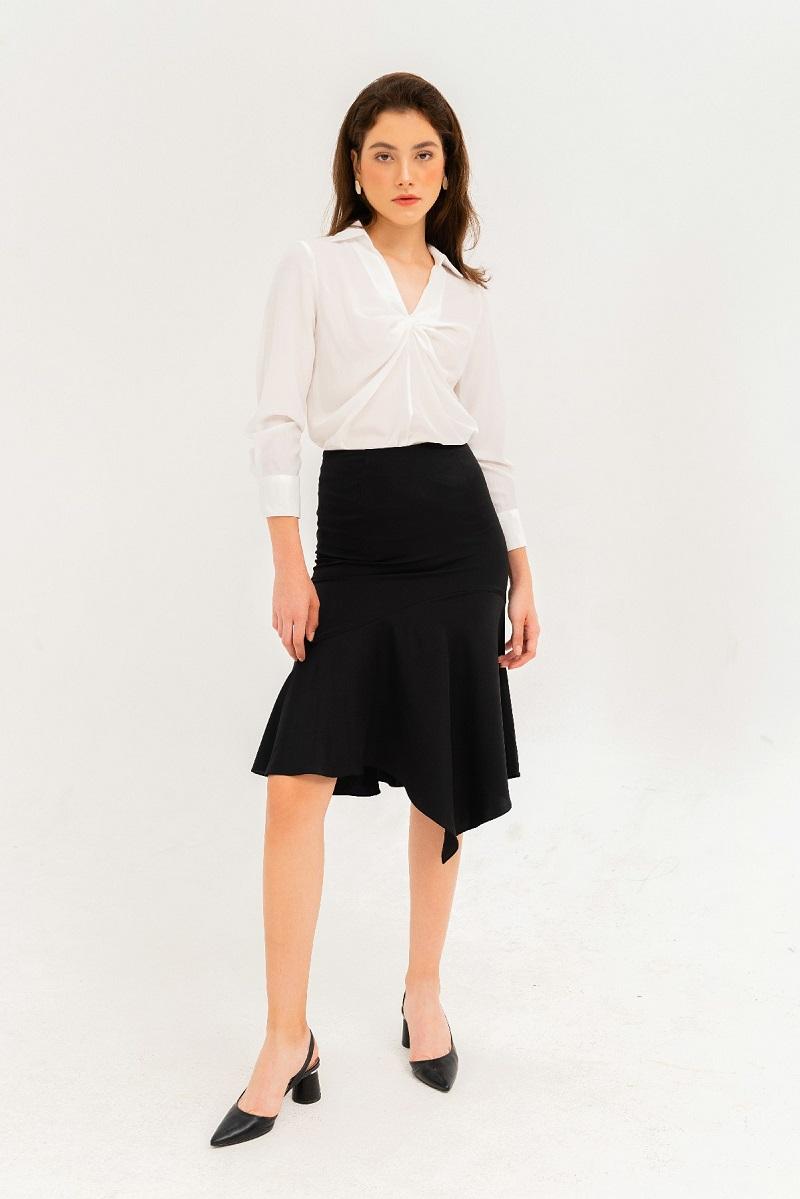 Fish Tail Silk Skirt - Váy Lụa Đuôi Cá