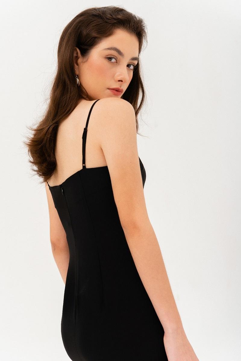 Váy maxi 2 dây trơn 4