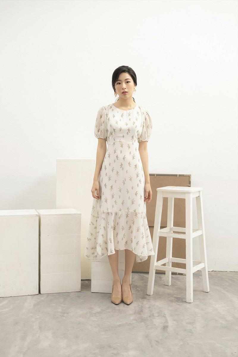 Váy voan hoa nhí 2