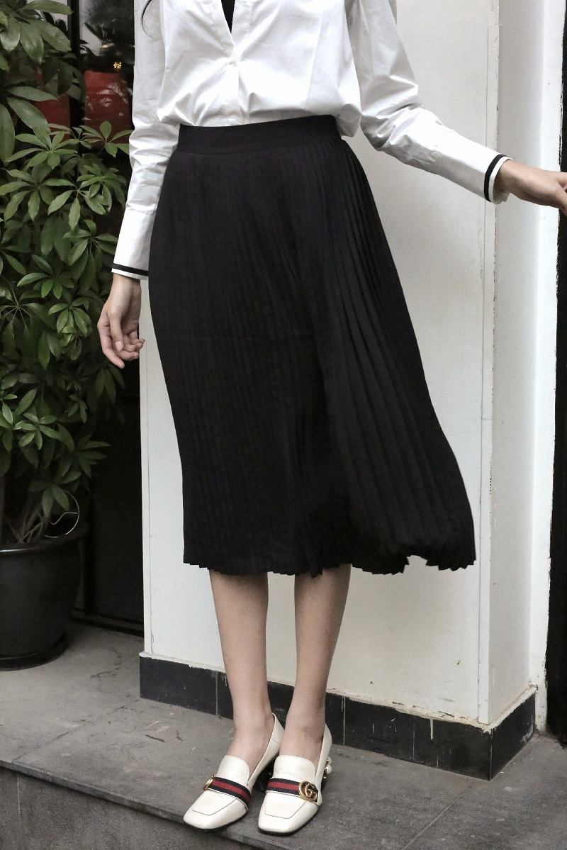 Pleat Skirt - Váy Xếp Li
