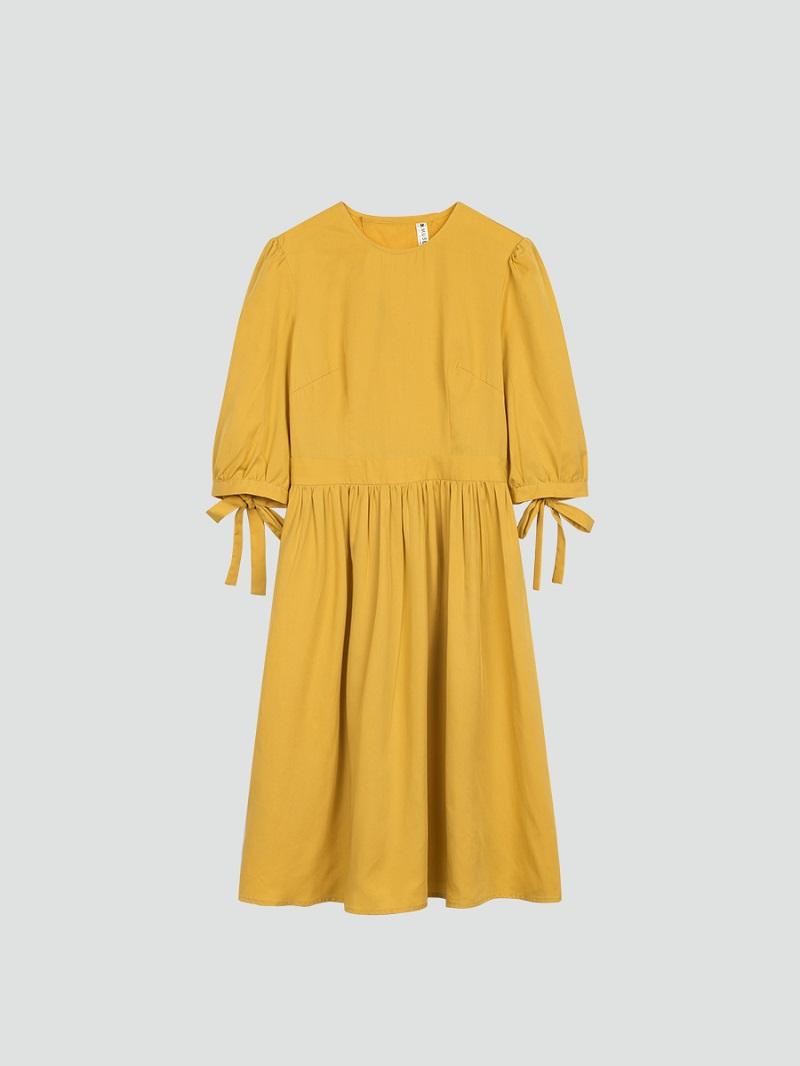 Váy xòe xẻ lưng 5