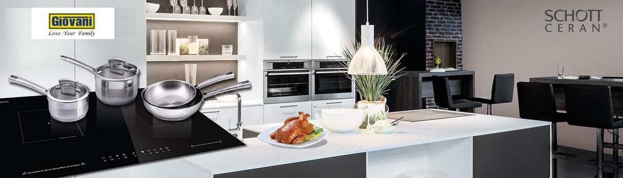 Bếp điện từ kết hợp Giovani