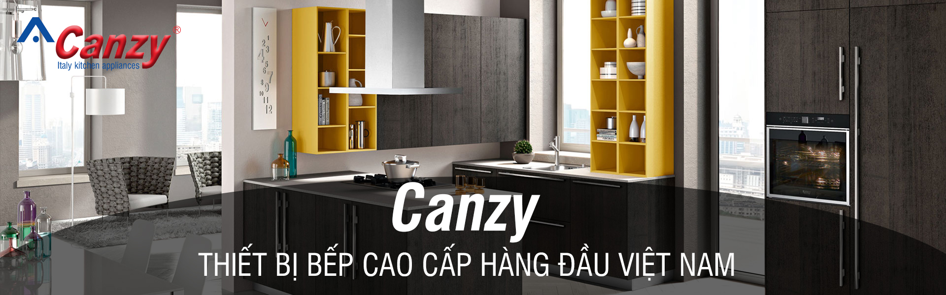 Bếp gas Canzy