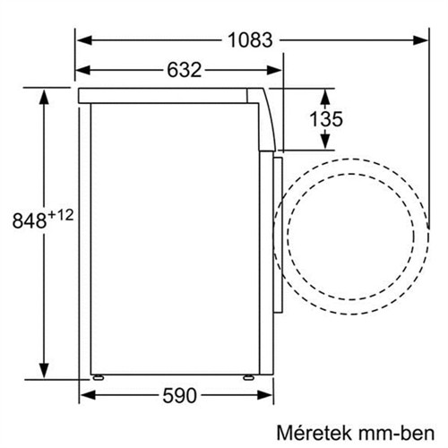 Máy Giặt BOSCH HMH.WAW28440SG   Serie 8