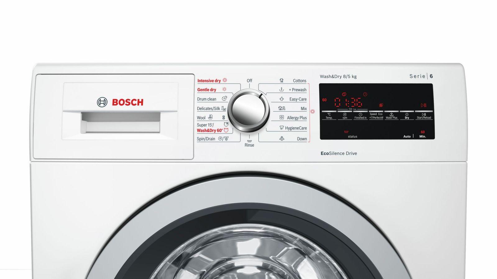 Máy Giặt Kết Hợp Sấy Cửa Trước BOSCH HMH WVG30462SG
