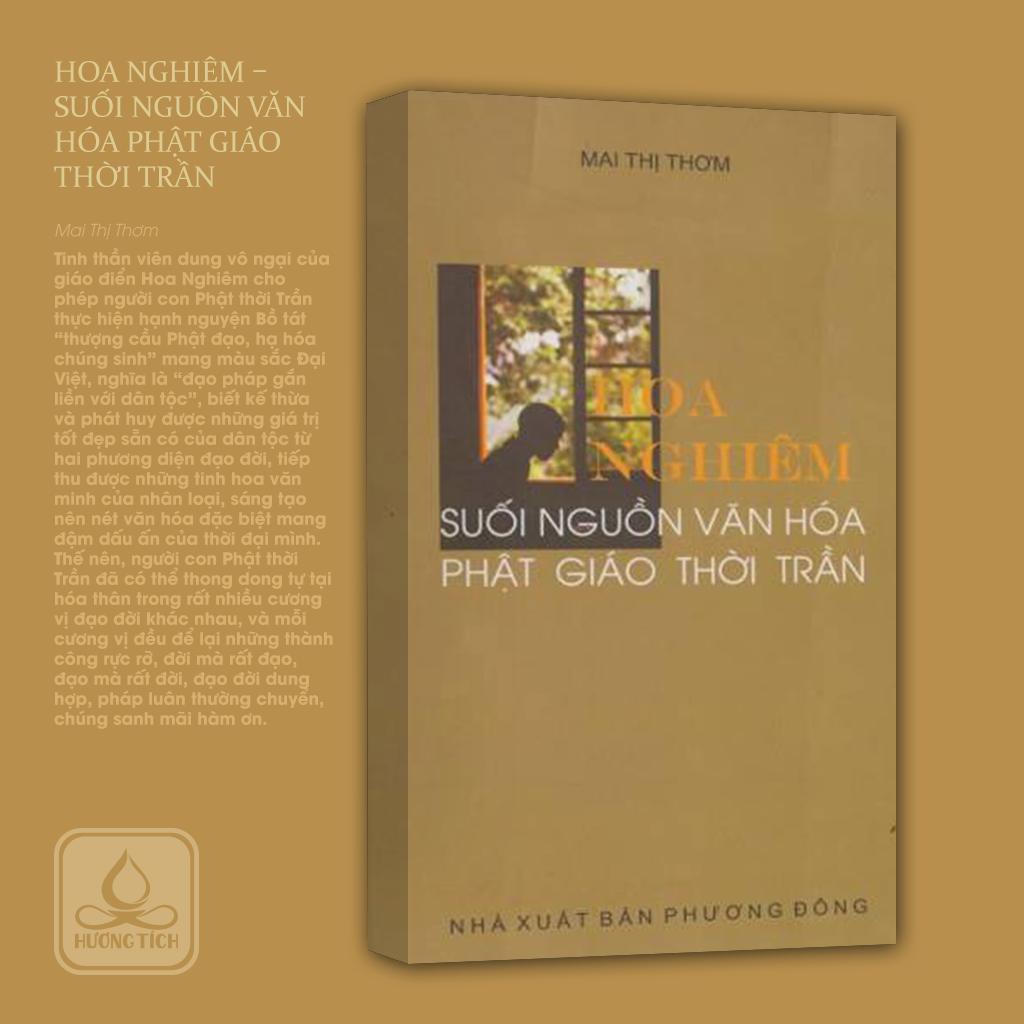 Hoa Nghiêm - Suối Nguồn Văn Hóa Phật Giáo Thời Trần