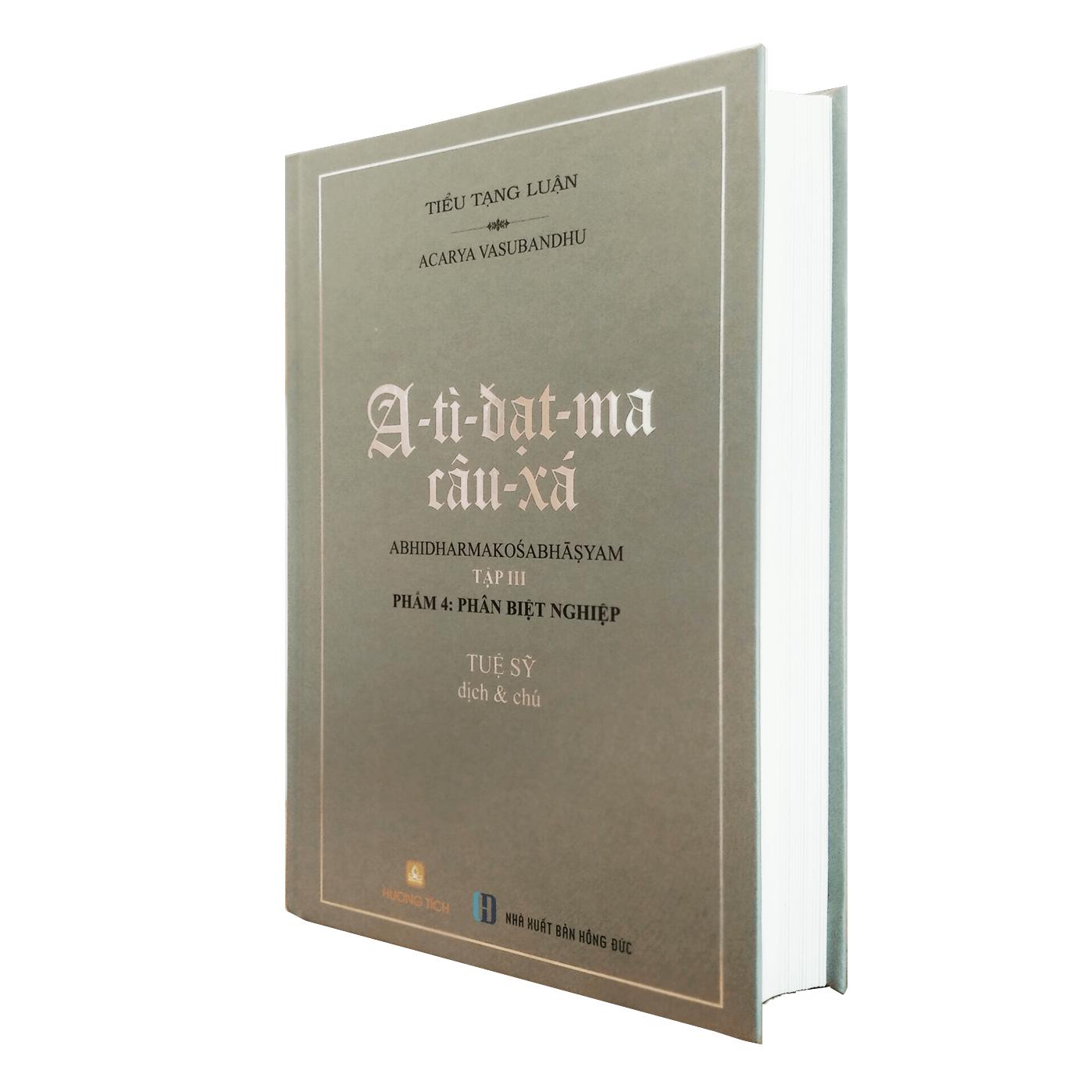 A-tì-đạt-ma câu-xá (Tập III) - PHÂN BIỆT NGHIỆP