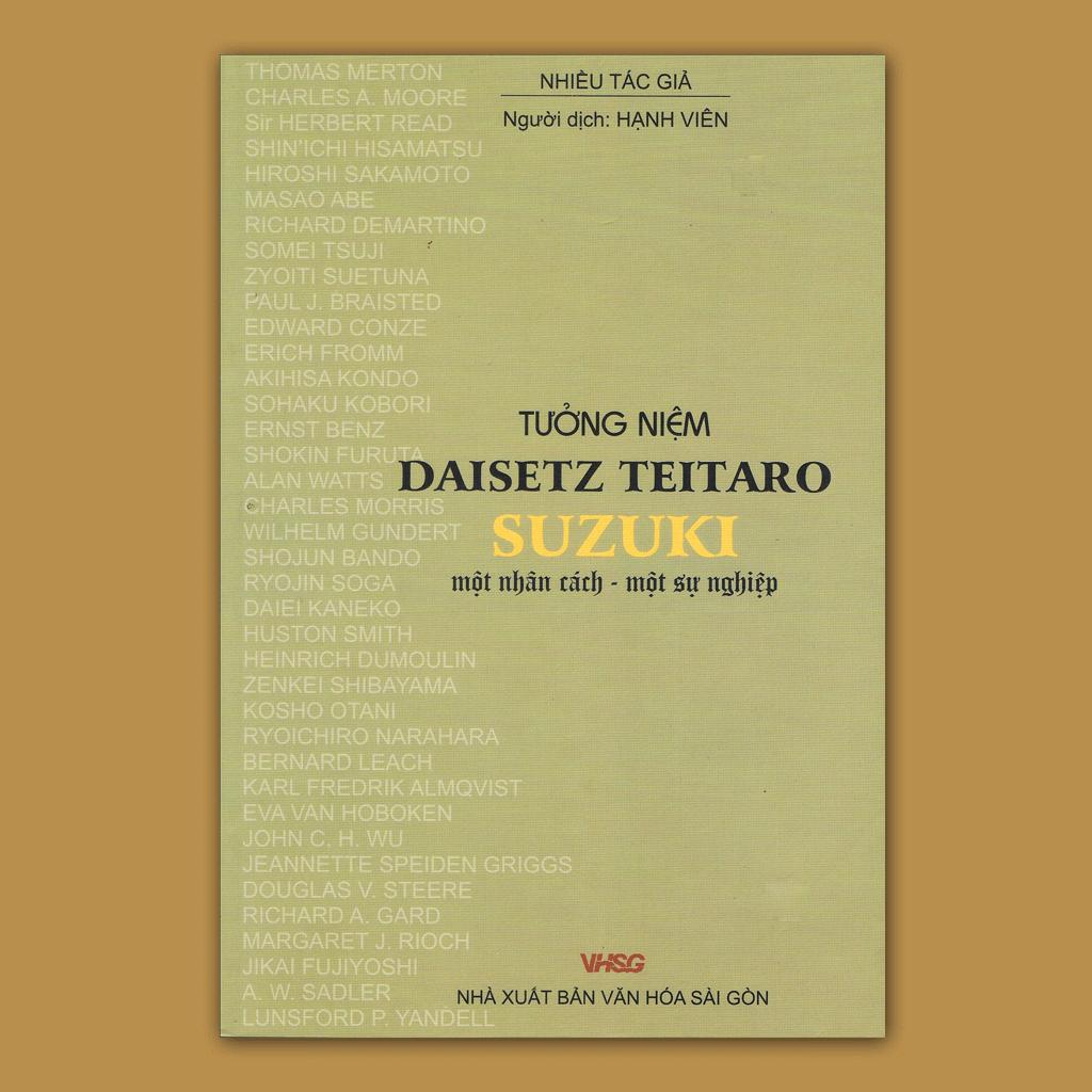 D.T. Suzuki - Một nhân cách, một sự nghiệp