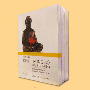 Toát Yếu Kinh Trung Bộ - Trọn bộ 3 tập
