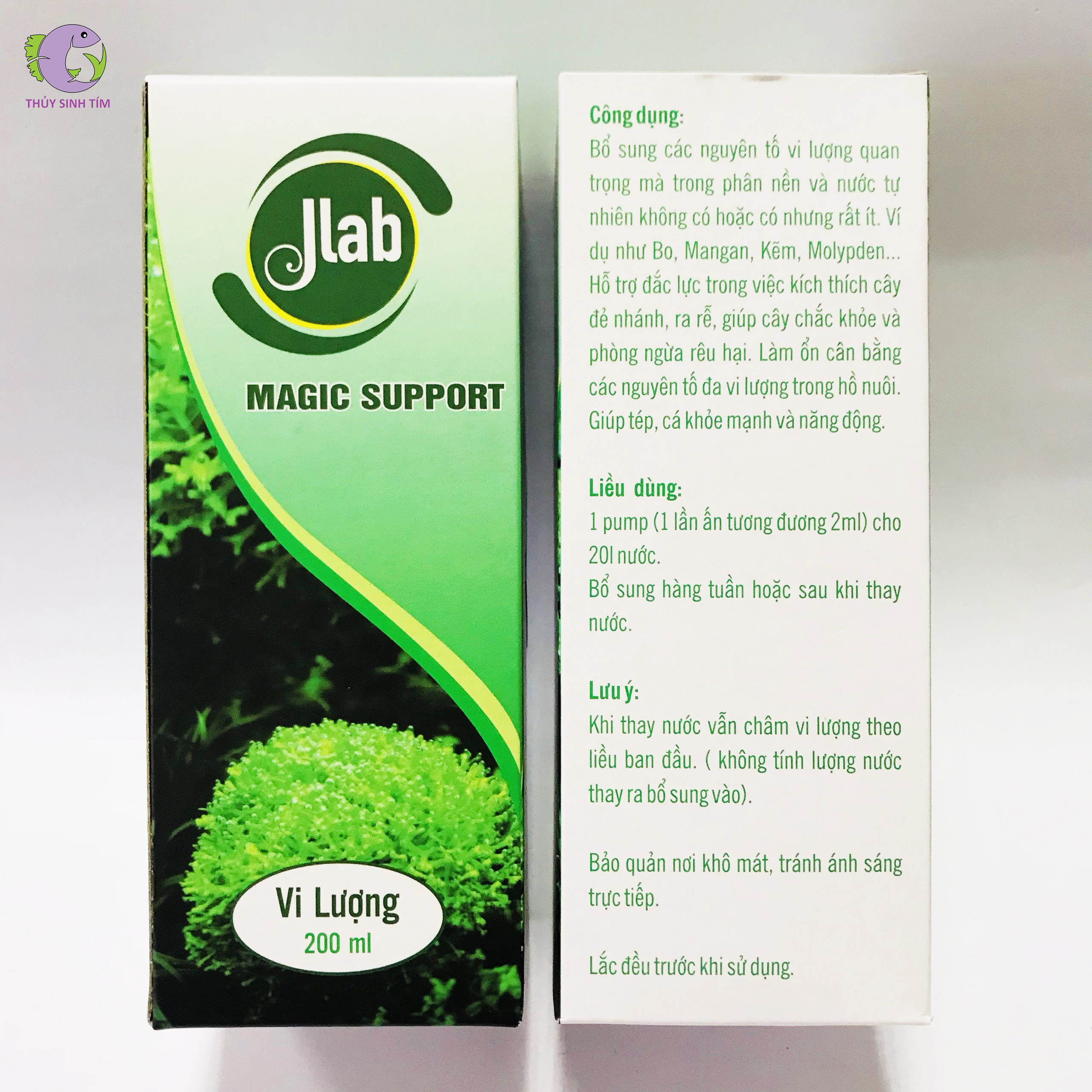 phân nước magic support jlab - 3
