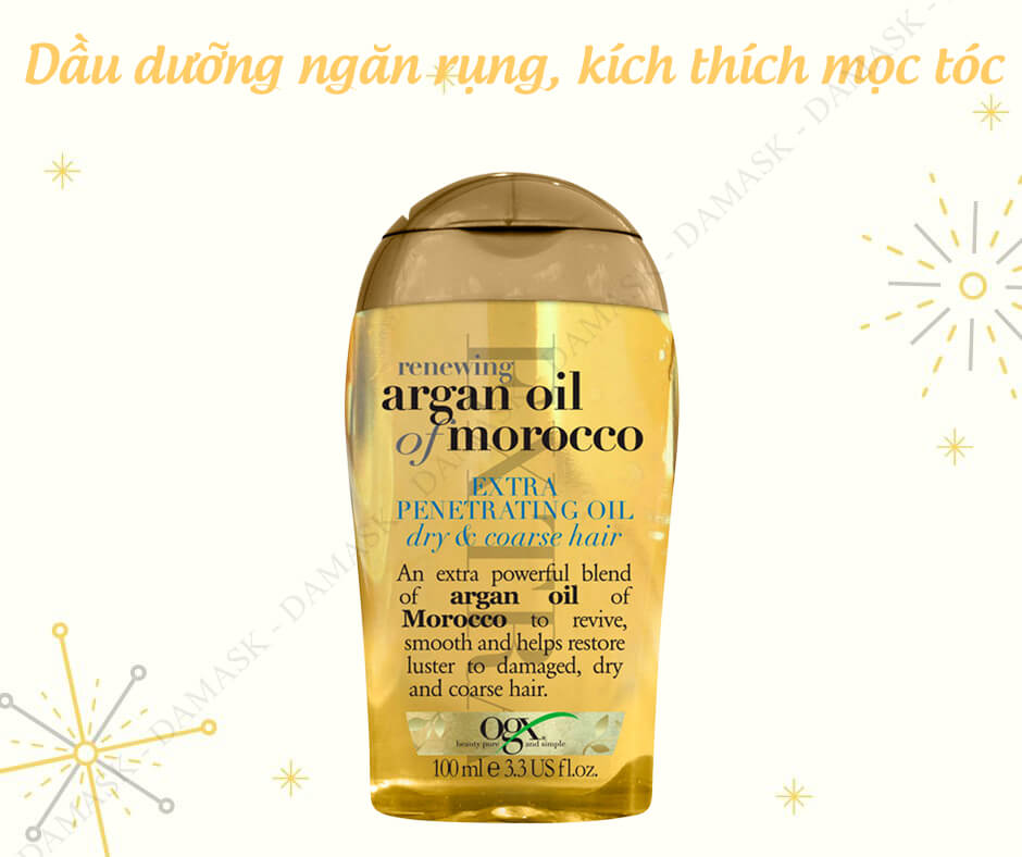 Review Dầu Dưỡng Tóc Organix Biotin & Collagen Weightless Healing Oil