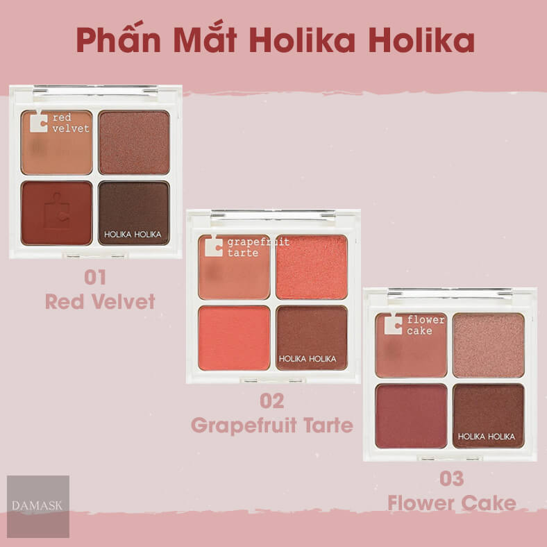 Review Phấn Mắt Holika Holika Piece Maching