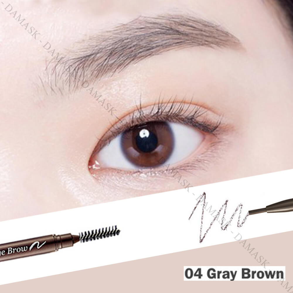 Chì Kẻ Mày 2 Đầu Etude House Drawing Eyebrow Slim - Gray Brown