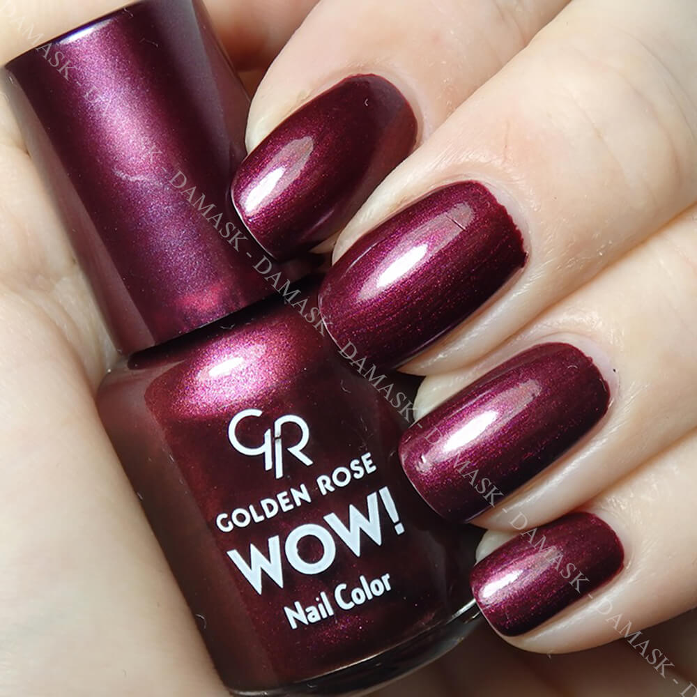 Sơn móng Golden Rose Wow Nail Color - Màu 55