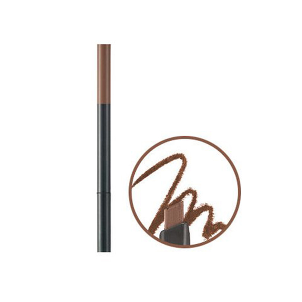 Chì Kẻ Mày Ngang The Face Shop Designing Eyebrow Pencil - Light Brown