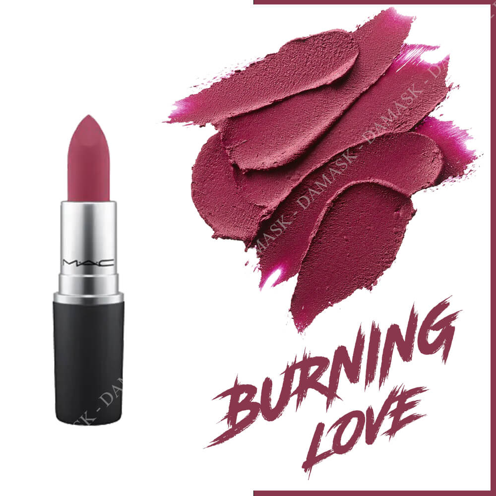 Son M.A.C Power Kiss Lipstick - Burning Love