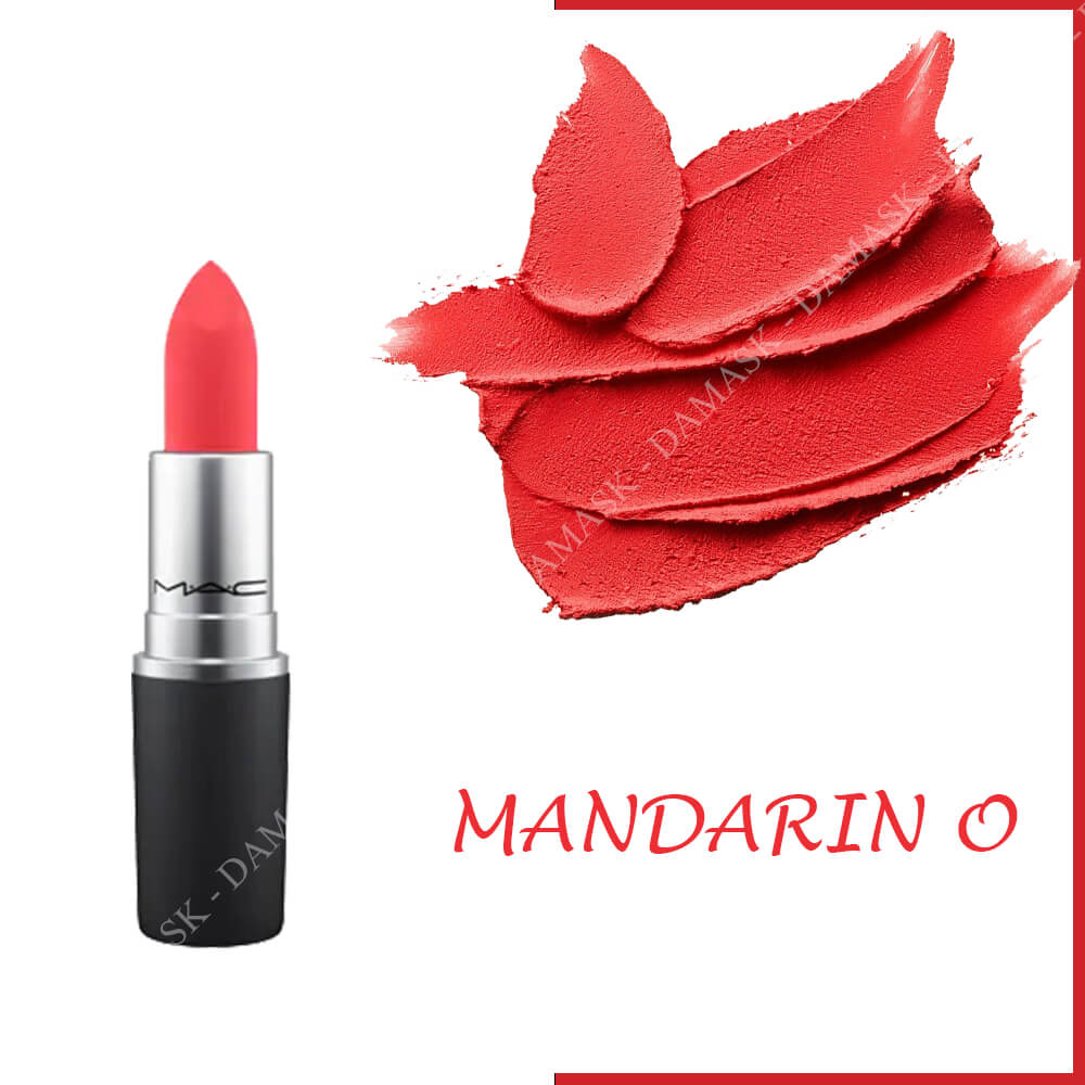 Son M.A.C Power Kiss Lipstick - Mandarin O