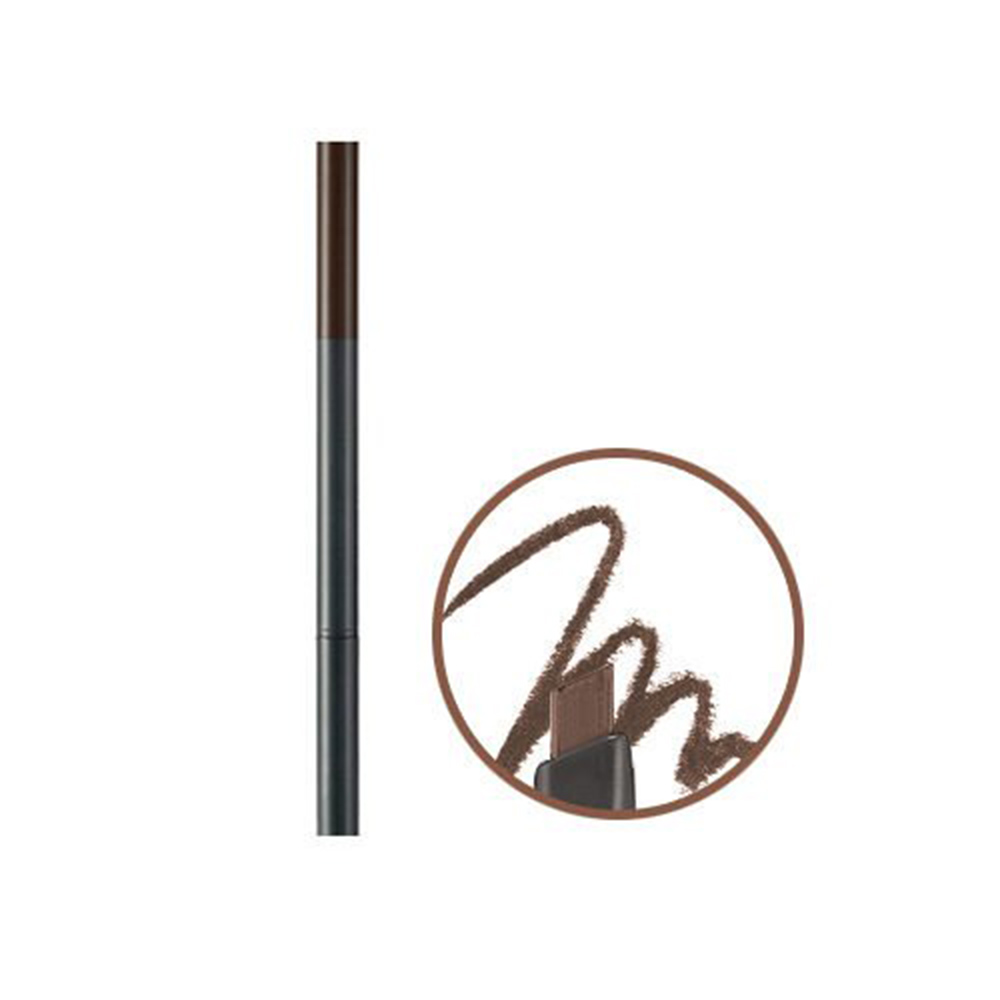 Chì Kẻ Mày Ngang The Face Shop Designing Eyebrow Pencil -  Brown