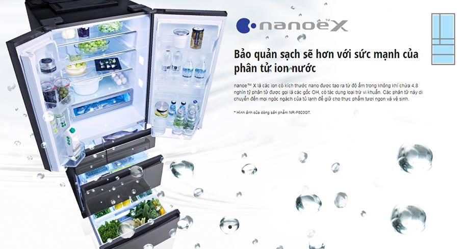 Công nghệ kháng khuẩn, khử mùi Nanoe-X