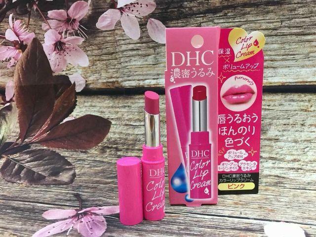 Son dưỡng DHC màu hồng giữ ẩm môi 1.5g