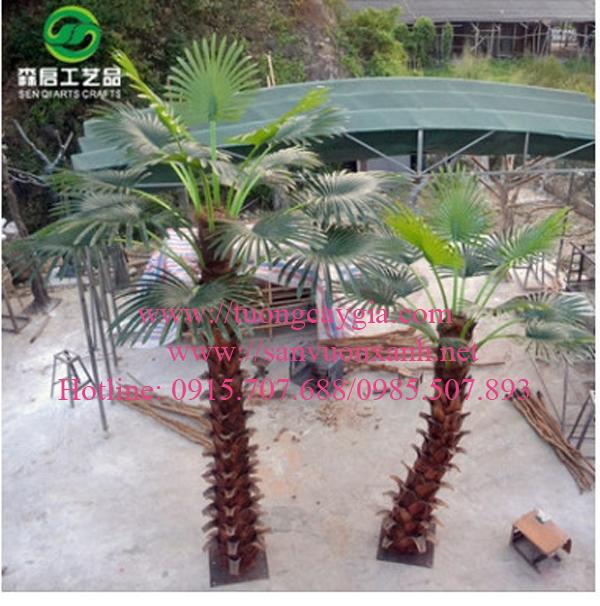 Mẫu cây cọ giả tại Hà Nội