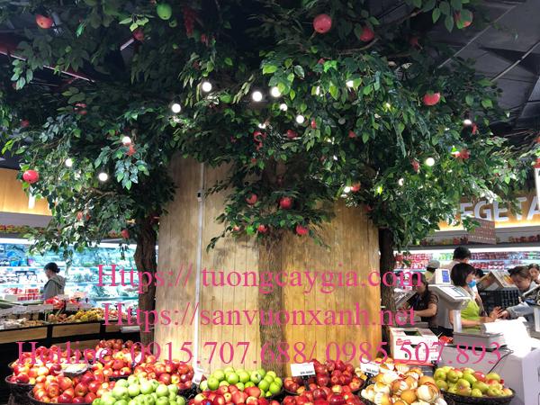 Giá thi công cây táo giả tại Hà Nội