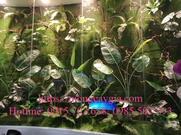 Trang trí vách tường rêu tại quận 3 - TP HCM