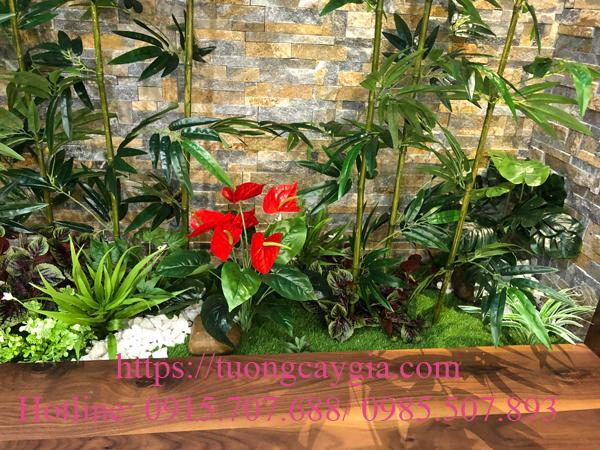Trang trí tiểu cảnh trong nhà - Vincom green bay