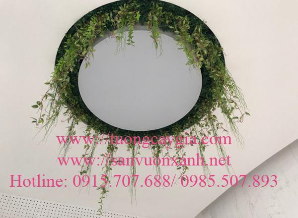 Dây rủ trang trí tại toà nhà Viettel - Hà Nội
