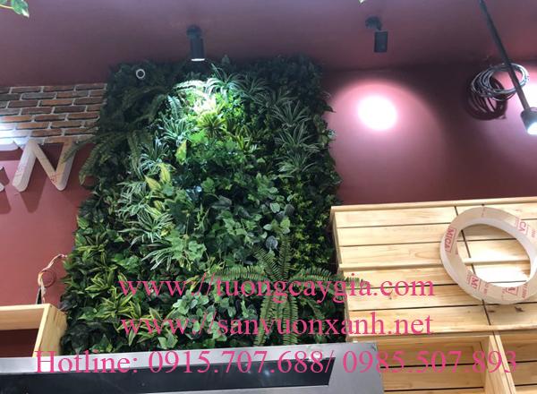 Tường cây giả tại Aeon mall - Hà Đông - Hà Nội