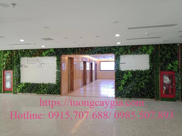 Trang trí sảnh tòa nhà chung cư đường Nguyễn Lương Bằng - quận 7 - Tp HCM