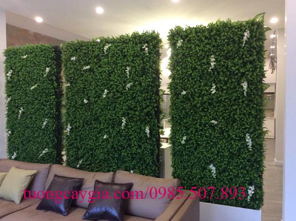 Đơn vị thi công tường cỏ giả chuyên nghiệp, rẻ đẹp