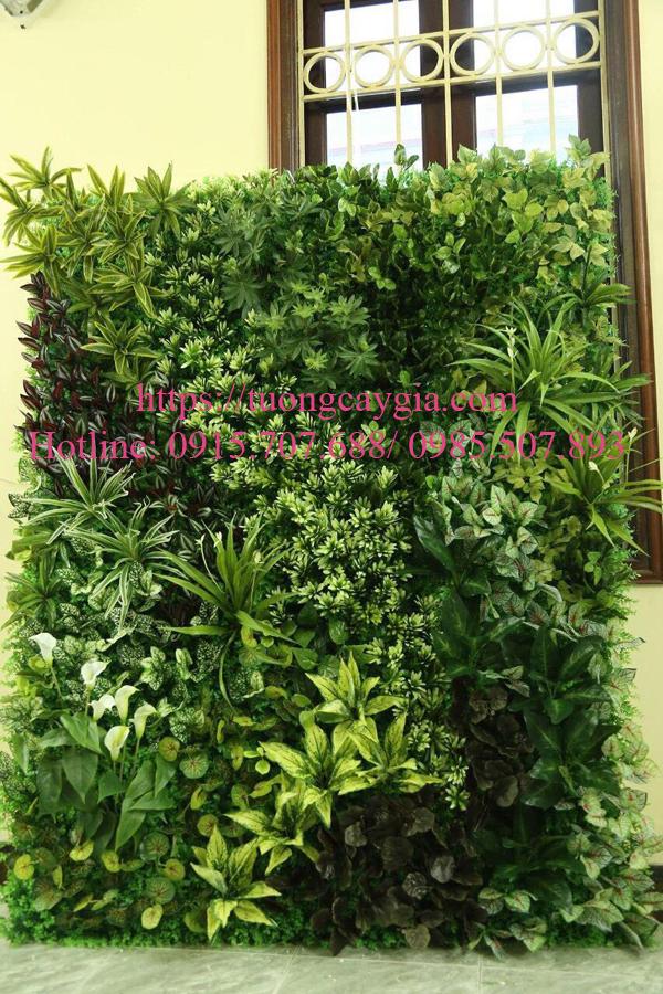 Mẫu tường cây giả đẹp - độc - lạ chỉ tại Tường cây giả, tường cỏ giả Nhật Minh