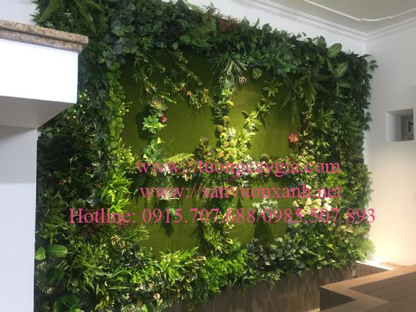 Thi công tường rêu tại Hà Nội
