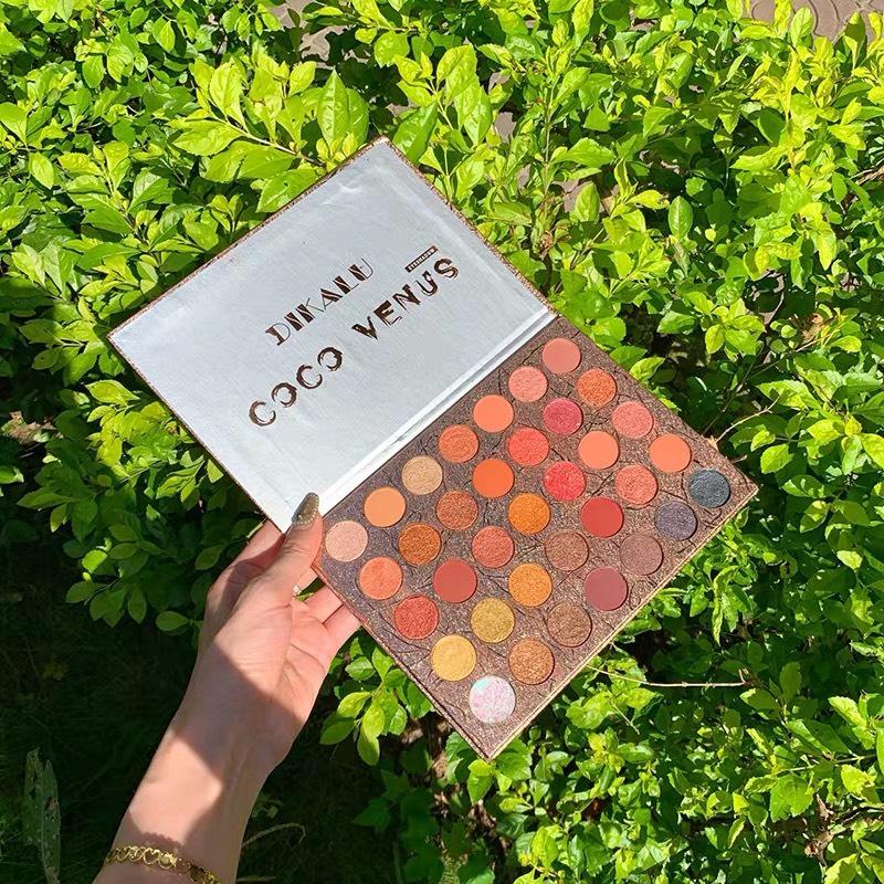 Bảng màu mắt 35 màu Holo Dikaly Coco Venus