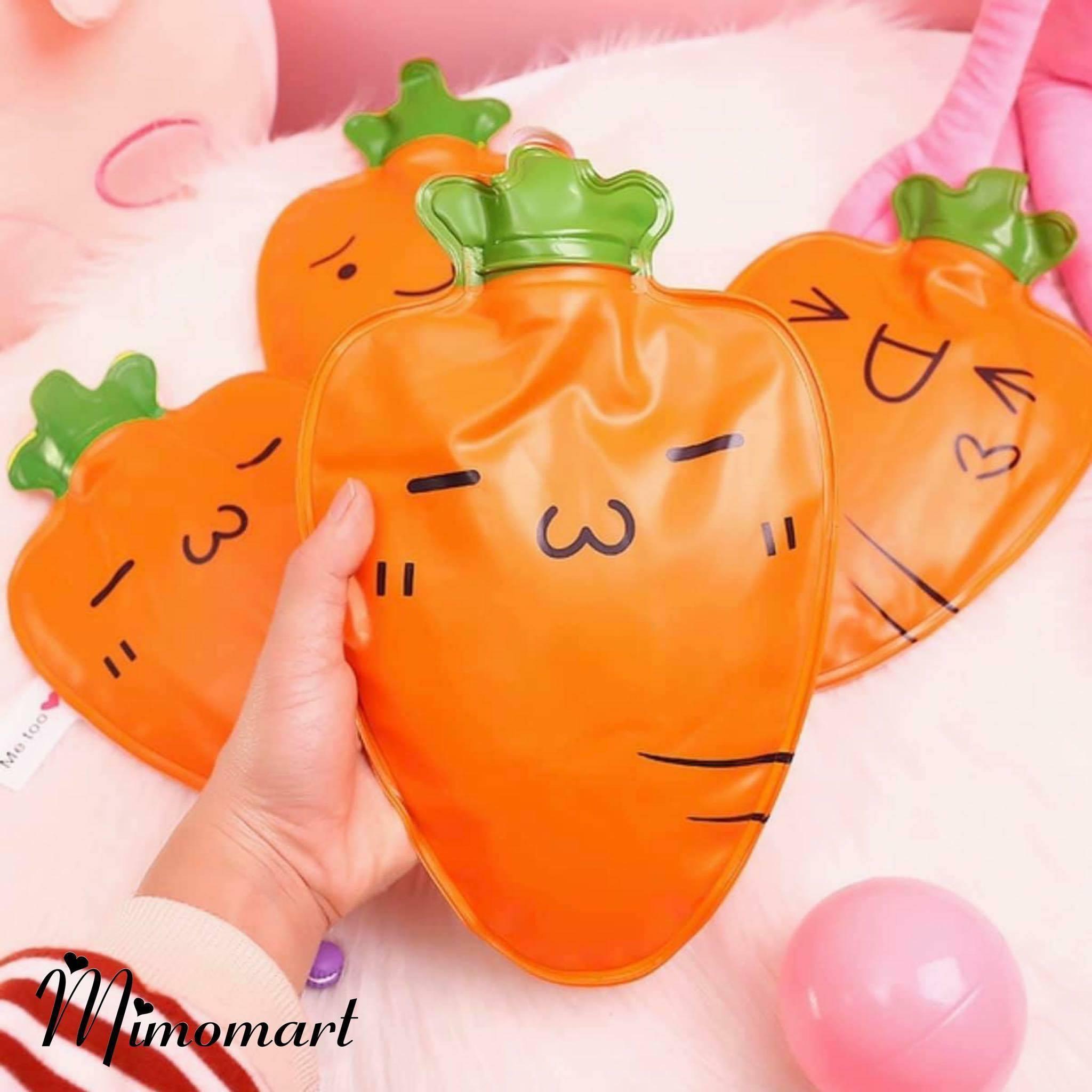Túi chườm cà rốt