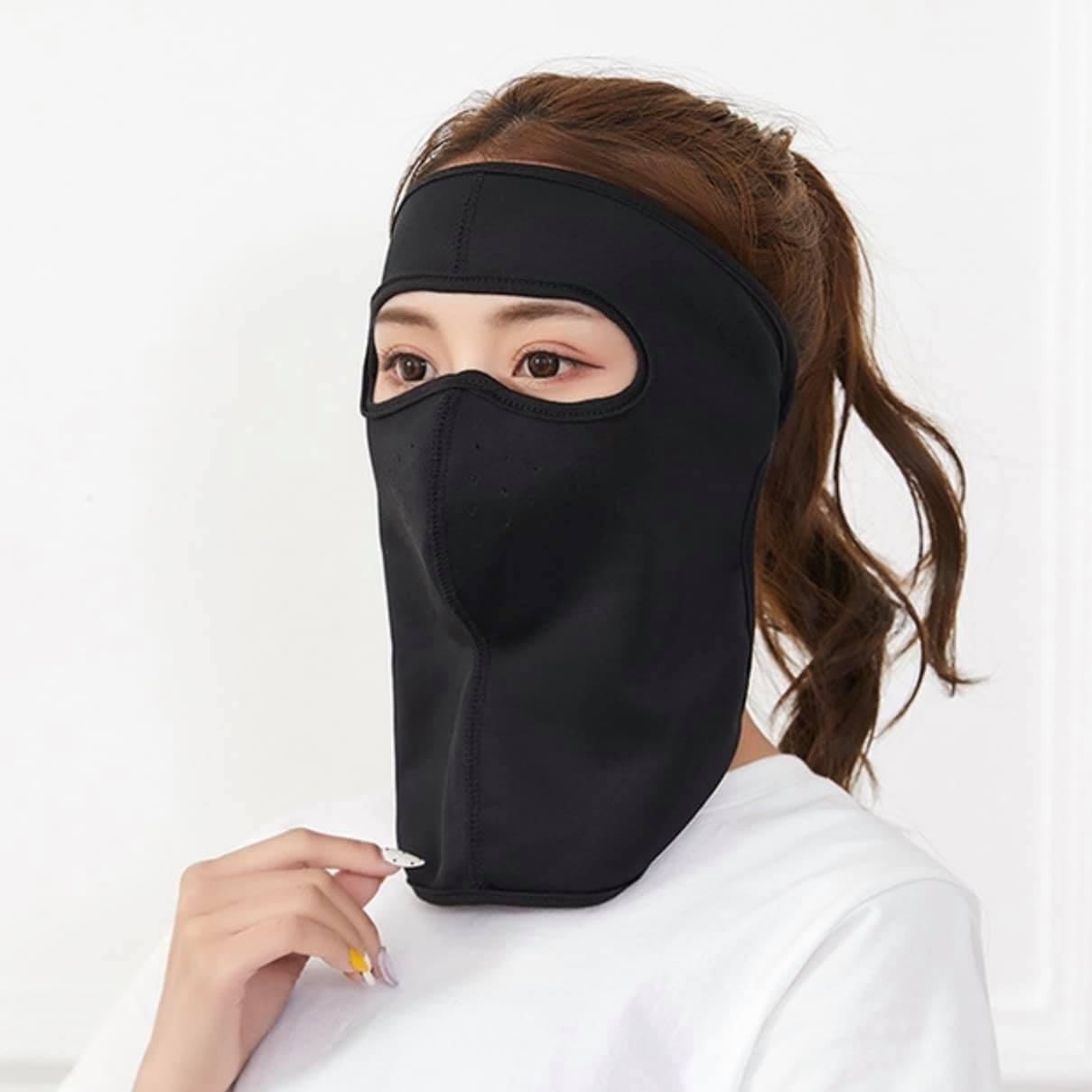 Khẩu trang Ninja (trùm đầu)