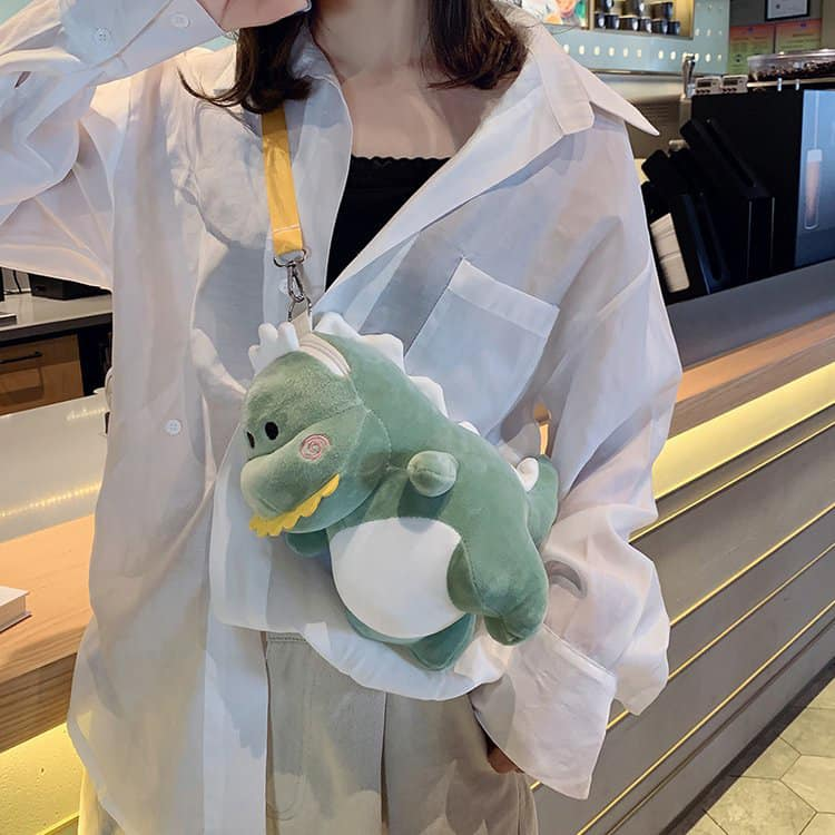 Túi đeo chéo khủng long T-rex