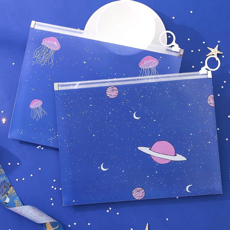 Túi đựng tài liệu A5 hình planet