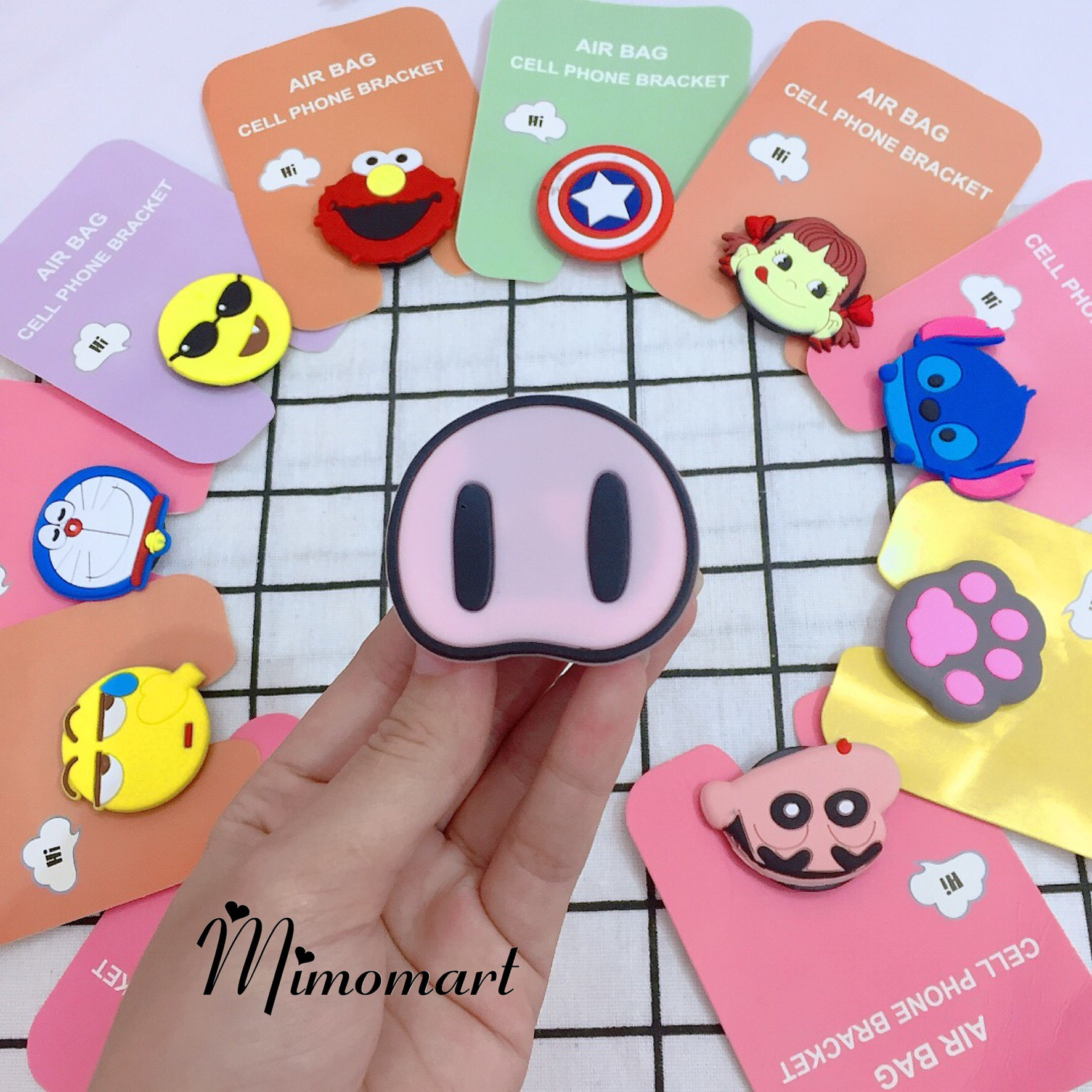 Popsocket Silicon Cute