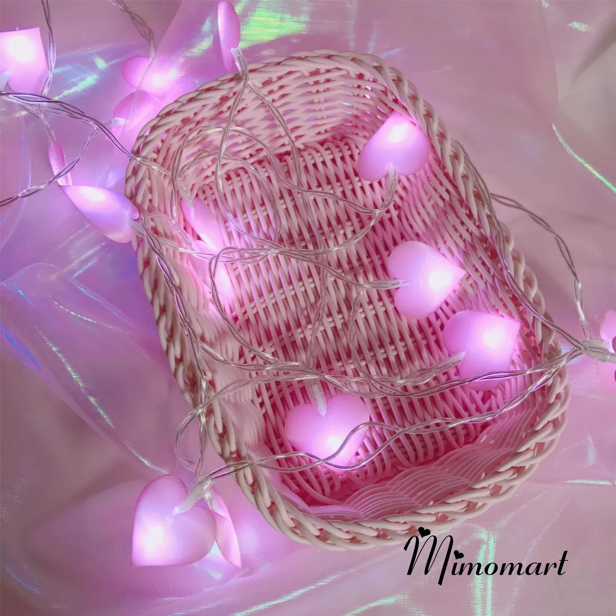 Đèn dây trái tim