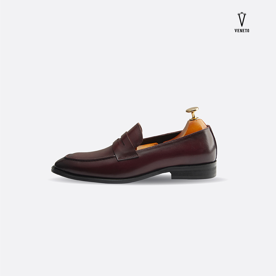 Giầy luxury loafers brown
