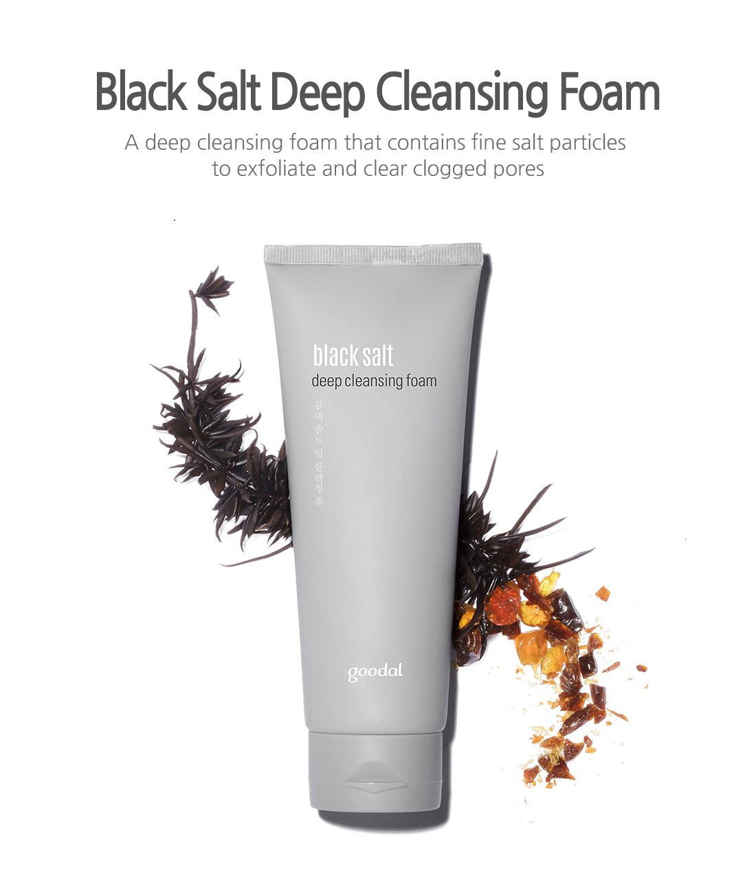 [REVIEW] Sữa Rửa Mặt Goodal Black Salt Deep Cleansing Foam