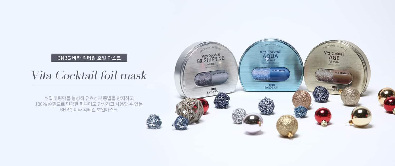BANOBAGI - Mặt nạ cao cấp Vita Cocktail Foil Mask Bee Tee Beauty
