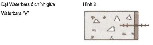 Cách lắp đặt Sika Waterbar V15, Sika Waterbar V20, Sika Waterbar V25, Sika Waterbar V32