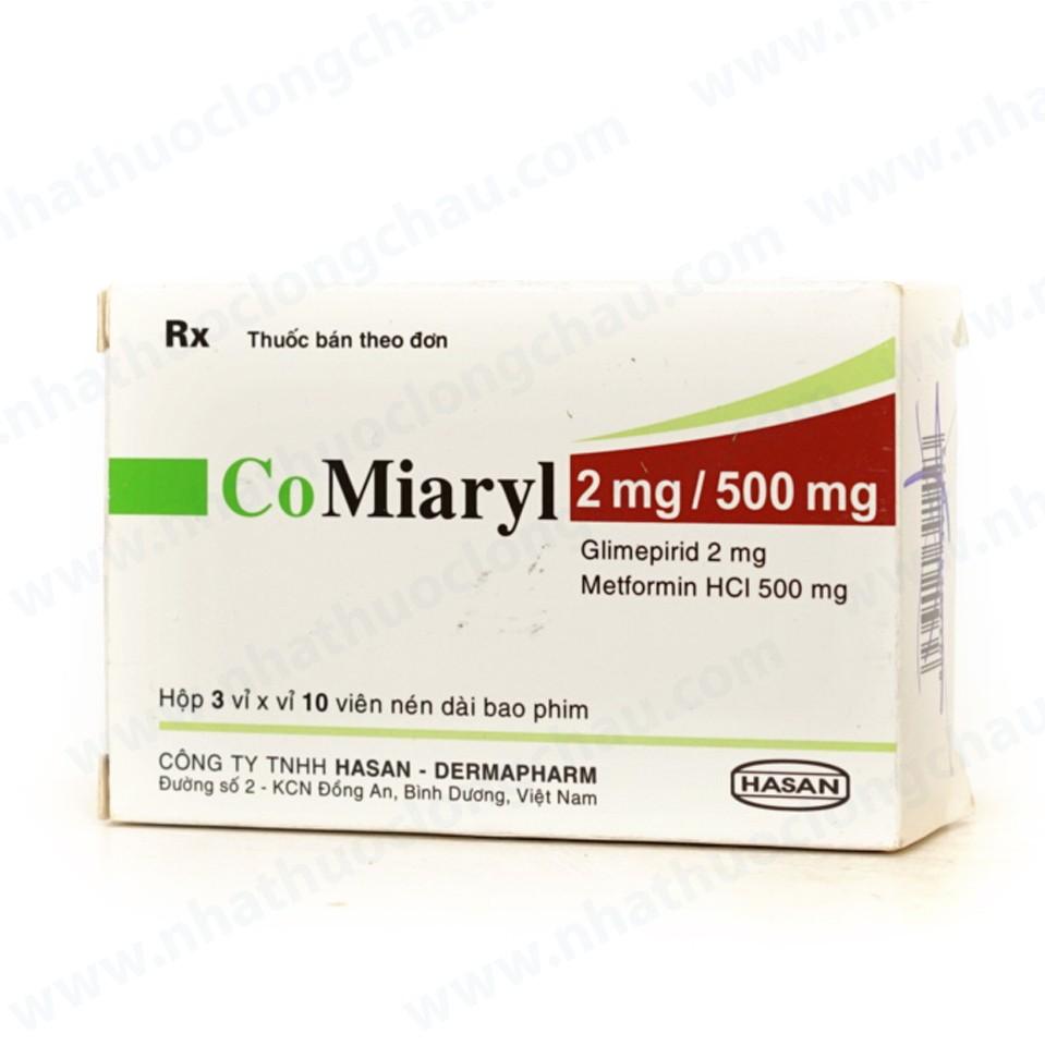 CoMiaryl 2/500mg