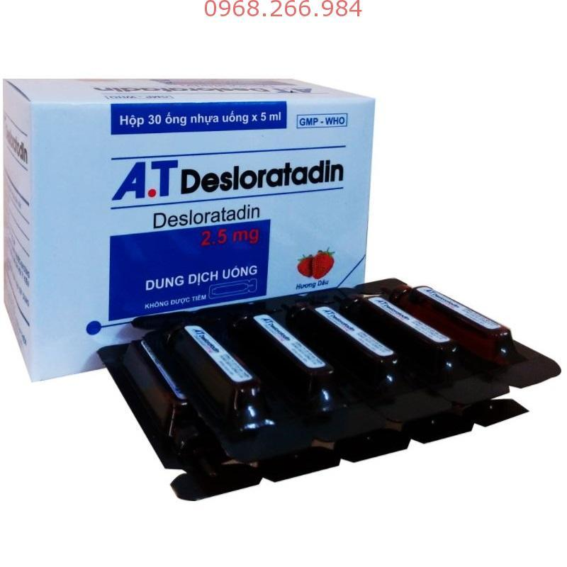 AT Desloratadine (ống)