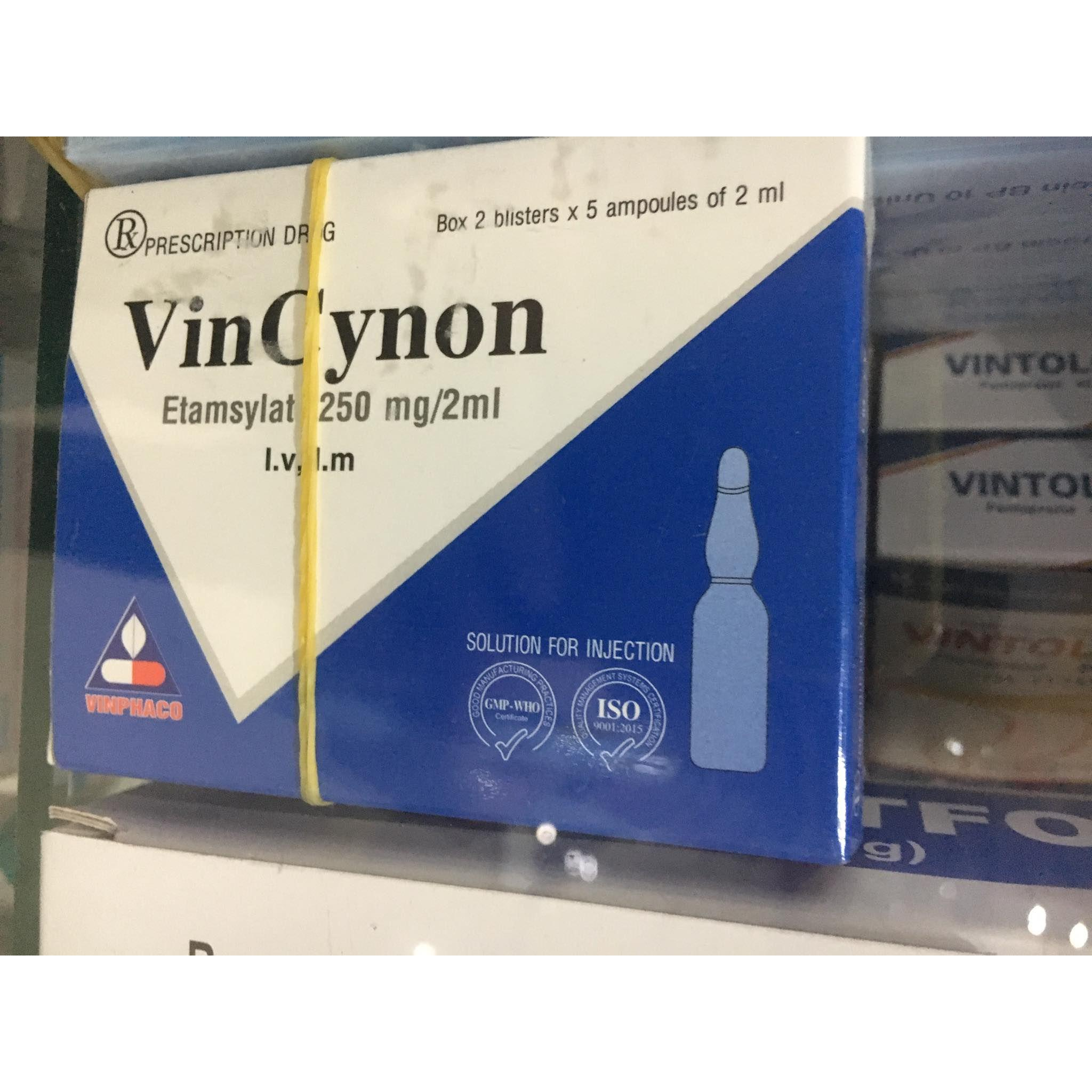 Vincynon 250mg/2ml