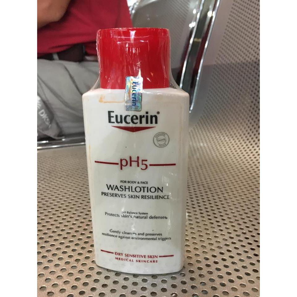 Sữa tắm Eucerin pH 5 Wash Lotion 200ml