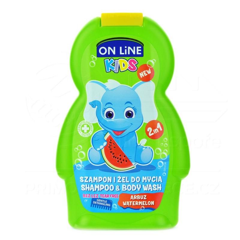 Sữa tắm gội On Line Kids 250ml